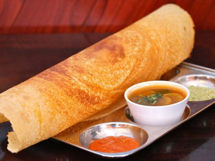 Southeast asia is famous for roti with pickles